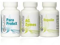 Kuracja Oczyszczająca CALIVITA - (Paraprotex+Nopalin+A-C Zymes) + gratis Olej kokosowy BIO 30ml